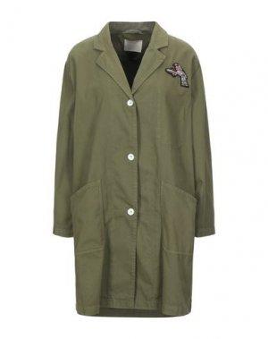 Легкое пальто MOMONÍ. Цвет: зеленый-милитари