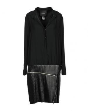 Платье до колена JAY AHR. Цвет: черный