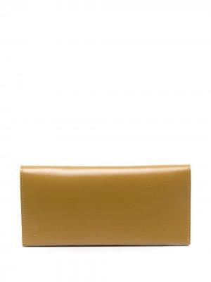 Складной кошелек Ally Capellino. Цвет: желтый