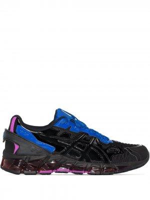 X GmbH black Gel-Quantum 360 6 sneakers ASICS. Цвет: фиолетовый