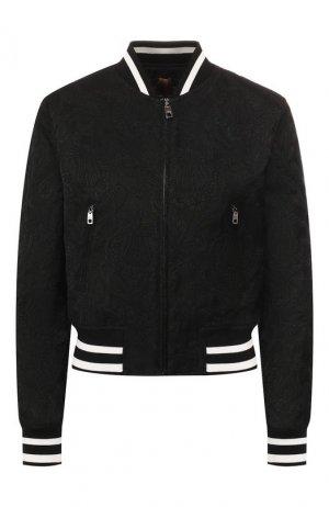Бомбер Dolce & Gabbana. Цвет: чёрный