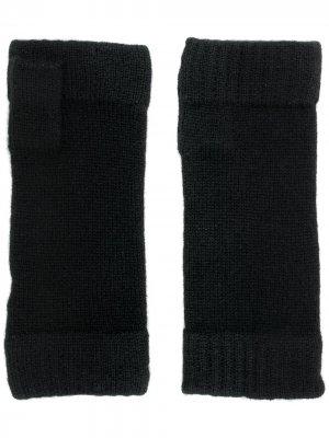 Finger-less knitted gloves N.Peal. Цвет: черный