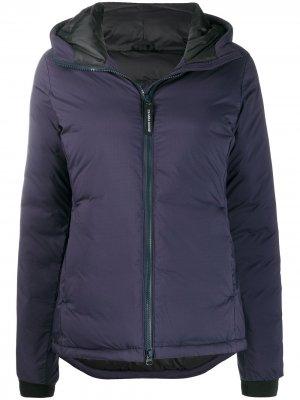 Куртка-пуховик Canada Goose. Цвет: синий