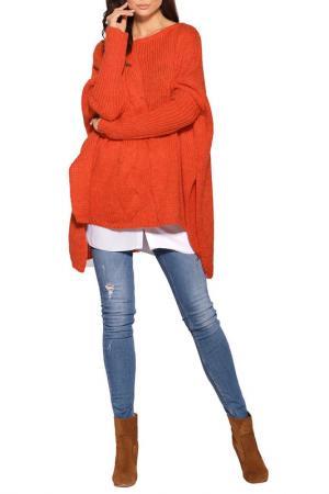 Свитер Lemoniade. Цвет: orange