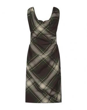 Короткое платье VIVIENNE WESTWOOD. Цвет: зеленый-милитари
