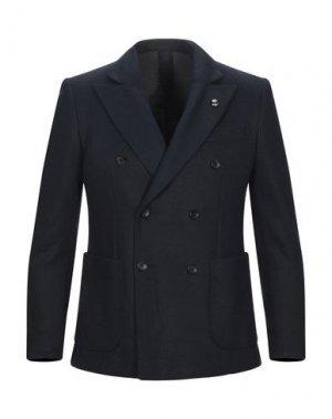 Пиджак CAVALLI CLASS. Цвет: темно-синий