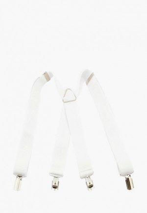 Подтяжки Stilmark. Цвет: белый