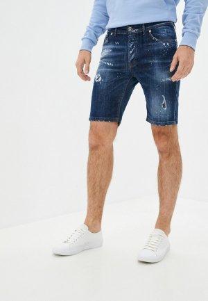Шорты джинсовые John Richmond. Цвет: синий