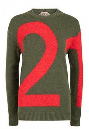 Джемпер No21. Цвет: зеленый