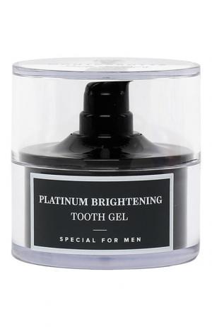 Гель для зубов Platinum Brightening Tooth Gel Montcarotte. Цвет: бесцветный