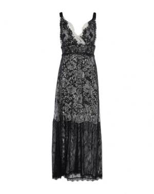 Длинное платье EDAS. Цвет: черный