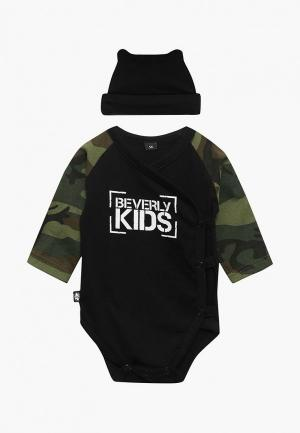 Комплект Beverly Kids MOLOKOSOS. Цвет: черный