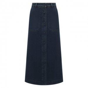 Джинсовая юбка Chloé. Цвет: синий