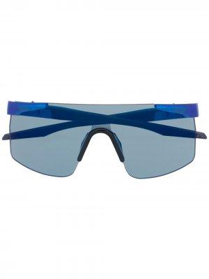 Солнцезащитные очки Speed Up PUMA. Цвет: синий