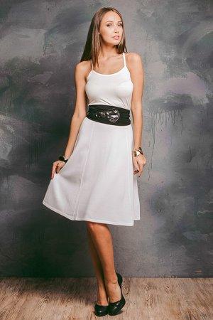 Юбка Philippe Carat. Цвет: белый
