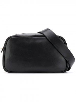 Поясная сумка на молнии The Row. Цвет: черный