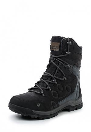 Ботинки Jack Wolfskin GLACIER BAY TEXAPORE HIGH M. Цвет: серый