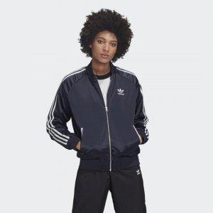 Куртка-бомбер LNY Originals adidas. Цвет: белый