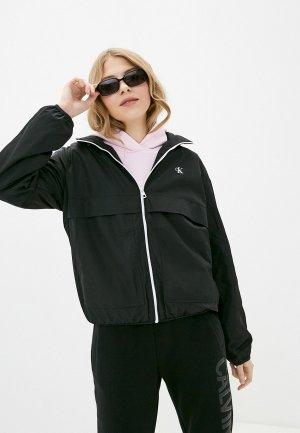 Ветровка Calvin Klein Jeans. Цвет: черный