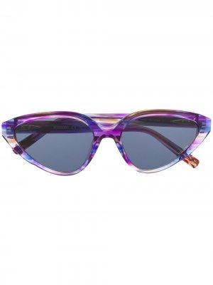 Солнцезащитные очки с абстрактным принтом Missoni. Цвет: фиолетовый
