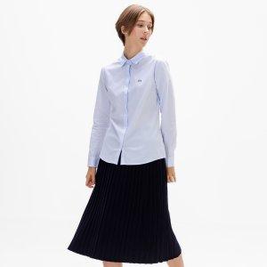 Блузы и рубашки Рубашка Lacoste. Цвет: голубой