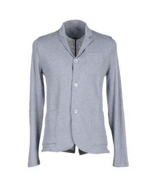 Пиджак MAJESTIC HOMME. Цвет: серый