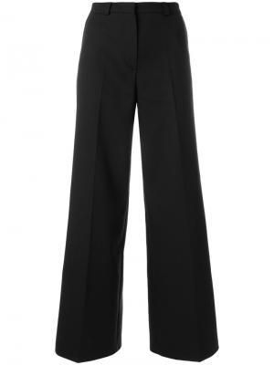 Широкие брюки Libertine-Libertine. Цвет: чёрный