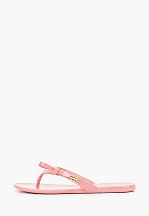 Сланцы Petite Jolie. Цвет: розовый