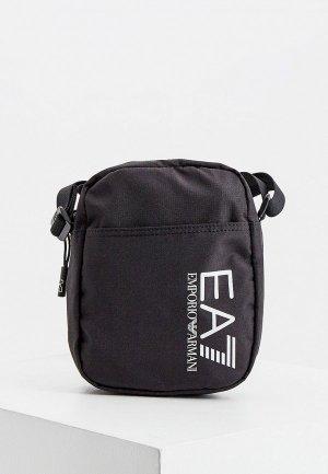 Сумка EA7. Цвет: черный