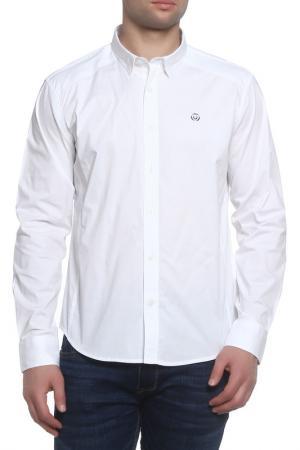 Рубашка Duck and Cover. Цвет: white