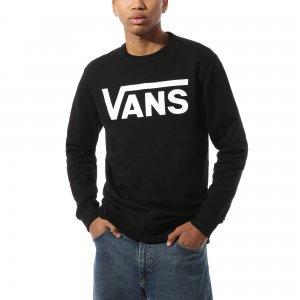 Пуловер Vans Classic Crew 2. Цвет: черный_белый