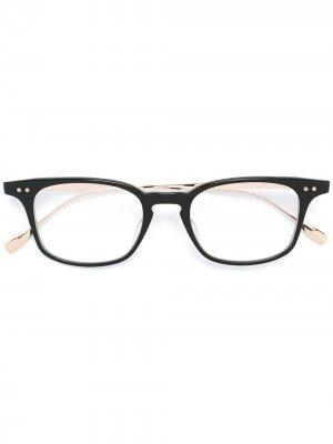 Оправа для очков Buckeye Dita Eyewear. Цвет: черный
