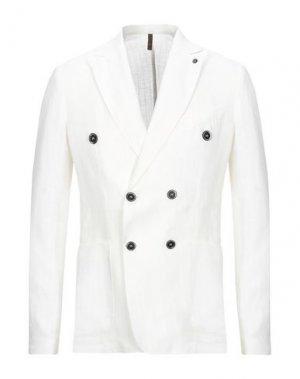 Пиджак LABORATORI ITALIANI. Цвет: белый