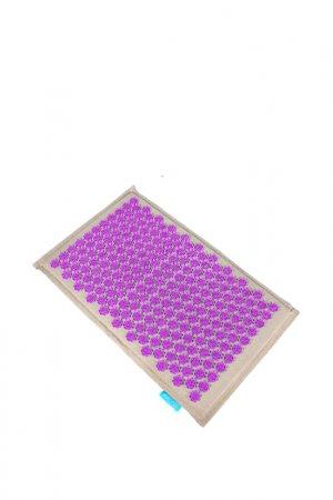 Массажный коврик акупунктурный Gezatone. Цвет: фиолетовый