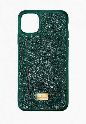 Чехол для iPhone Swarovski® 12 Pro Max. Цвет: зеленый