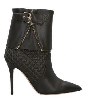 Полусапоги и высокие ботинки BRIAN ATWOOD. Цвет: темно-коричневый
