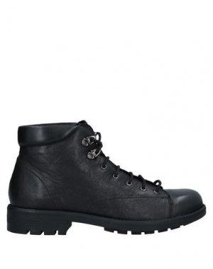 Полусапоги и высокие ботинки CAFèNOIR. Цвет: черный