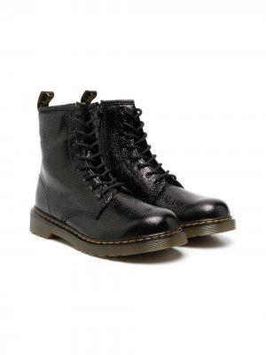 Ботинки Fiori Dr. Martens Kids. Цвет: черный