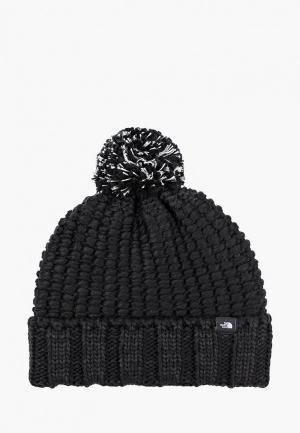 Шапка The North Face COZY CHUNKY BEANIE. Цвет: черный