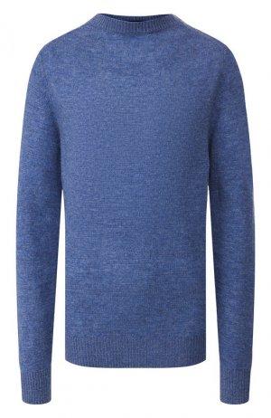Пуловер из смеси шерсти и кашемира Runway Marc Jacobs. Цвет: голубой