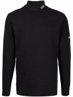 Джемпер с высоким воротником и вышитым логотипом The North Face. Цвет: черный