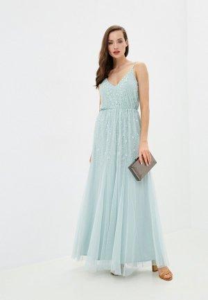Платье Little Mistress. Цвет: голубой