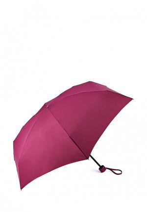 Зонт складной Fulton. Цвет: розовый