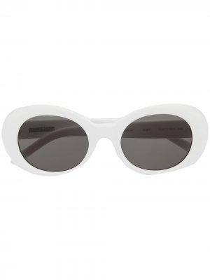 Солнцезащитные очки Kurt AMBUSH. Цвет: белый