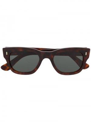 Солнцезащитные очки Cutler & Gross. Цвет: коричневый