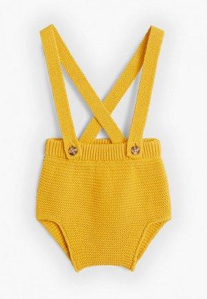 Шорты Mango Kids - ROLITA. Цвет: желтый