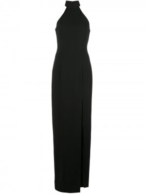 Вечернее платье Carlah с открытой спиной Jay Godfrey. Цвет: черный