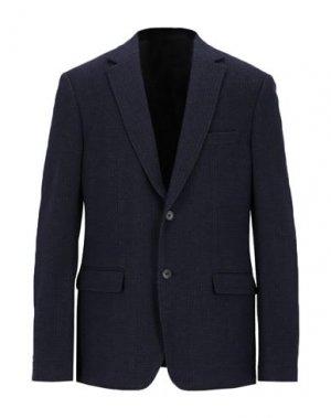 Пиджак SALVATORE FERRAGAMO. Цвет: темно-синий