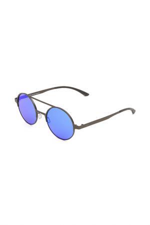 Очки солнцезащитные с линзами adidas. Цвет: 078 000 серый металлик матовый
