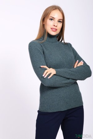 Пуловер Just Valeri. Цвет: зелёный